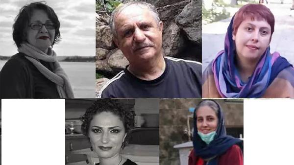 پنج مبارز سیاسی به ۳۸ سال حبس تعزیری محکوم شدند